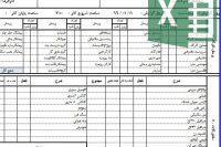 فرم گزارش روزانه کارگاه